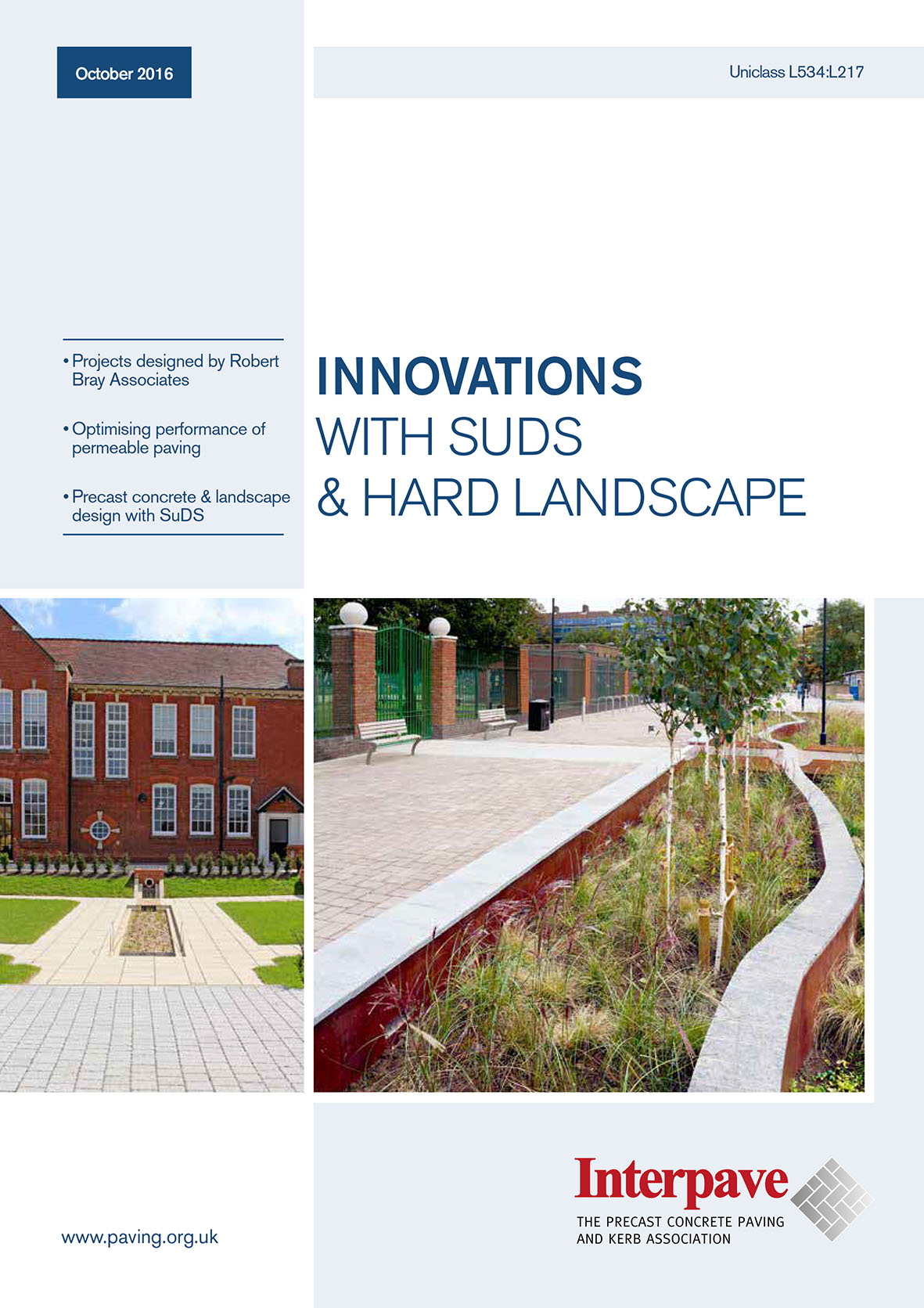 Innovations with SuDS & Hard Landscape