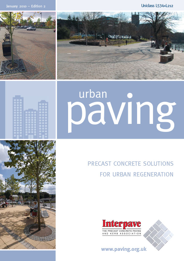 Urban paving brochure_update 2010